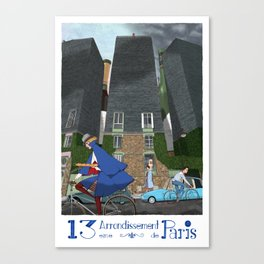 13eme Arrondissement Canvas Print