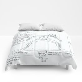 On Your Mark Drawing, Transitions through Triathlon Comforters
