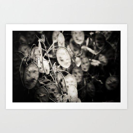 Ghostly Memories Swirl in My Head Art Print