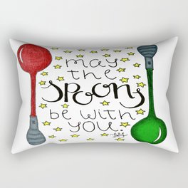 The Spoonie Force Rectangular Pillow