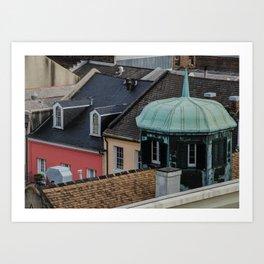 French Quarter Art Print