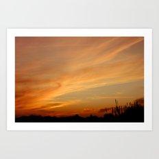 Sunset 2 Art Print