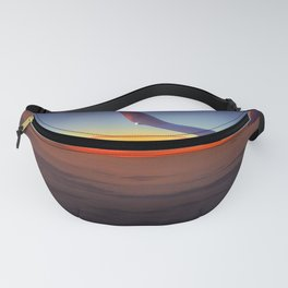 Sunrise over the seventh sky Fanny Pack