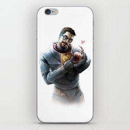 Gordon Freeman and Lamarr iPhone Skin