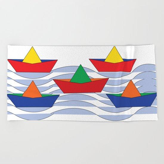 tas4 Beach Towel