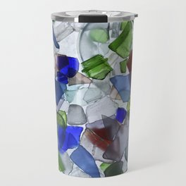 Beach Glass Travel Mug