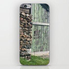 Barn Stone Foundation Rural Ontario iPhone Skin