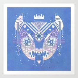 Sky Demon Art Print