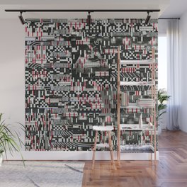 Comfortable Ambiguity (P/D3 Glitch Collage Studies) Wall Mural
