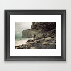 Étretat. France. Framed Art Print