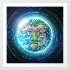 Earth II Art Print