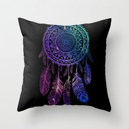 Galaxy Dreamcatcher Throw Pillow