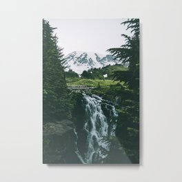 Myrtle Falls Metal Print