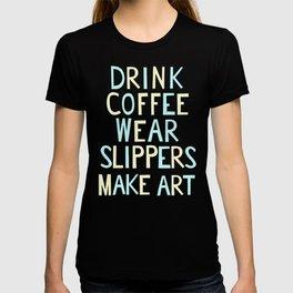 Wear Slippers - Sea -Art for Artists T-shirt