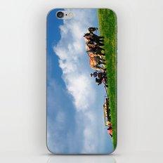 Amish farmer plowing iPhone & iPod Skin