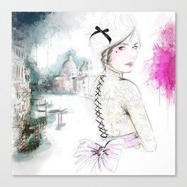Venise Dreamember Canvas Print