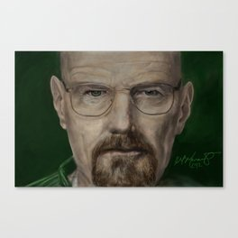 Yo! Mr White - Breaking Bad Canvas Print