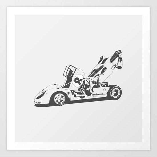 Ferrari 512 Art Print