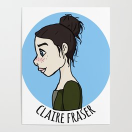 Claire Fraser Poster