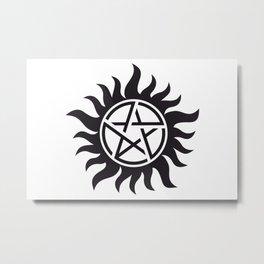 Anti-Possession Metal Print