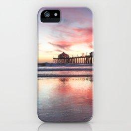 HB Sunset  12-22-18 iPhone Case