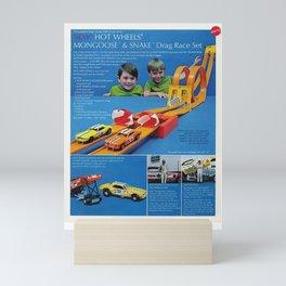1971 Hot Wheels Sears Catalog Snake & Mongoose MOPAR Poster Mini Art Print