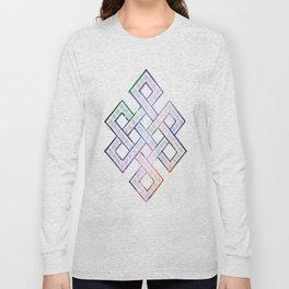 Tibetan Knot/Seed of life  Long Sleeve T-shirt