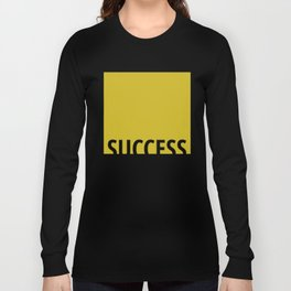 Succes Golden Matte Color Long Sleeve T-shirt