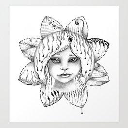 Mandala Angel Art Print
