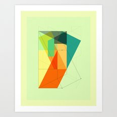 DELINEATION (103) Art Print