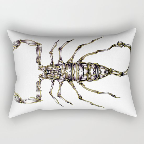 Scorpion's Kiss Rectangular Pillow