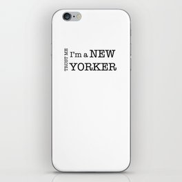 NEW YORKER iPhone Skin