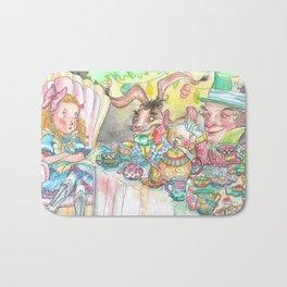 Alice's Mad Tea Party Bath Mat