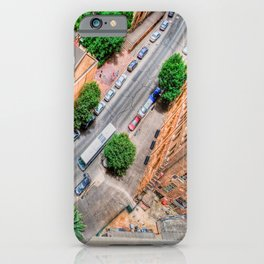 View From The Top    (digital painting) iPhone Case