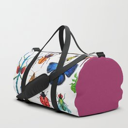 Entomology (White) Duffle Bag