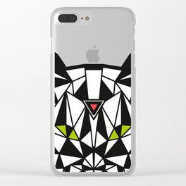 Crystal Cat Clear iPhone Case