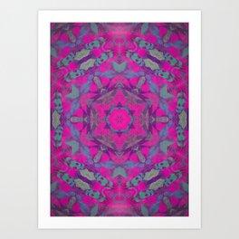 magic mandala 51 #mandala #magic #decor Art Print