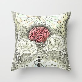 Transcend Your Mind Throw Pillow