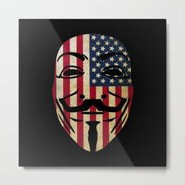 Anonymous USA Metal Print