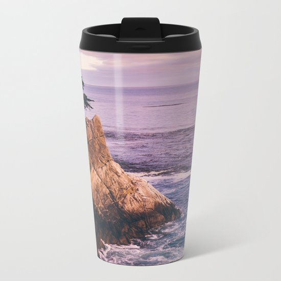Carmel California Metal Travel Mug