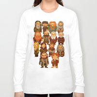 thorin Long Sleeve T-shirts featuring Thorin and Company by ginkohs