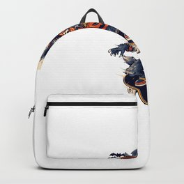 Warewolf Halloweeen Backpack