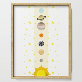 Solar System #society6 #decor #buyart #artprint Serving Tray