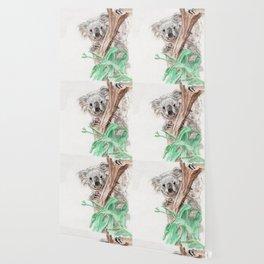 Koala Peek-A-Boo Wallpaper