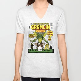 The Mischievous Gremlin Unisex V-Neck