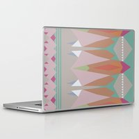 the mountains are calling Laptop & iPad Skins featuring The Mountains Are Calling by NOxLA