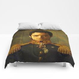 Elijah Wood - replaceface Comforters