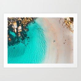 Nanarup Beach, Western Australia Art Print