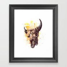 Skull 2 Framed Art Print
