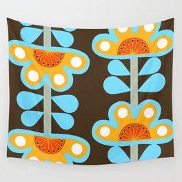 swedish flowers Wall Tapestry